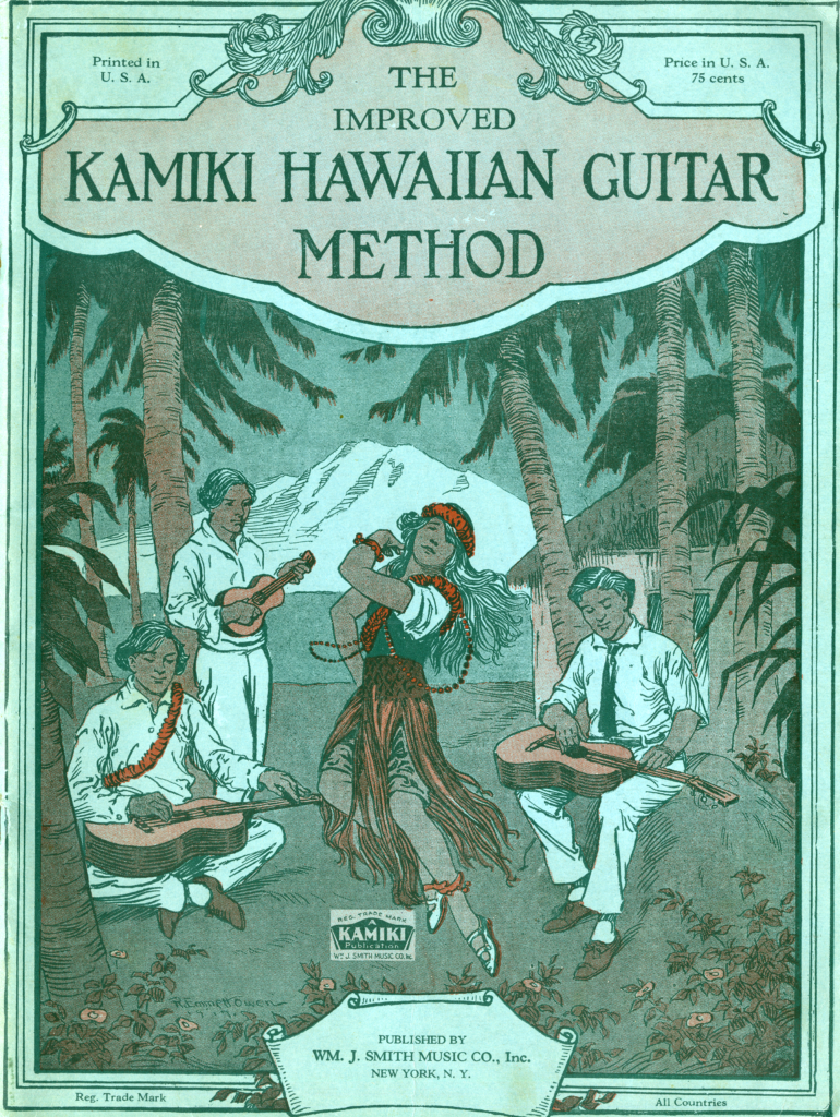 The front cover of the Kamiki Guitar Method book.